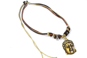 Wise Buddha Boho Style Bone Necklace