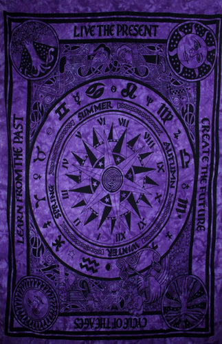 Deep Purple Cycle Of The Ages Tapestry