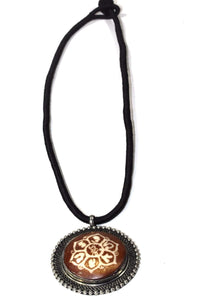 Auspicious Mandala Flower Spiritual Necklace