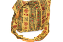 Load image into Gallery viewer, Henna Green Classic Om Jhola Sling Bag