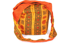 Load image into Gallery viewer, Saffron Classic Om Jhola Sling Bag