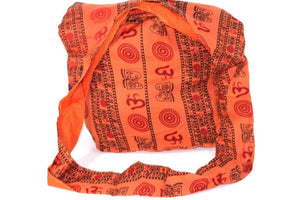 Orange Classic Om Jhola Sling Bag