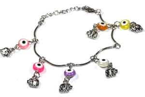 Elephant Age Old Charms Bracelet