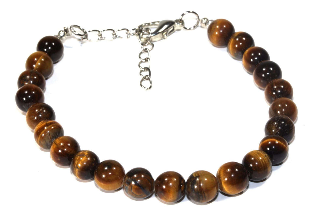 Tigers Eye Stone Yoga Bracelet