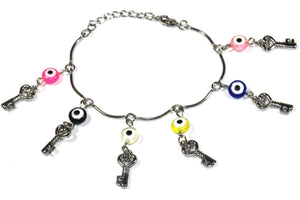Key Age Old Charms Bracelet