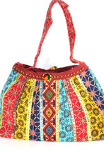 Load image into Gallery viewer, Festival Fireworks Mini Jhola Duffle Bag by Wild Lotus