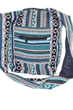 Load image into Gallery viewer, IKAT Durrie Sling Jhola Bags Winter Solstice by Wild Lotus