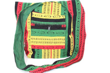 Load image into Gallery viewer, Rasta Vibes Durrie Sling Bag | Wild Lotus