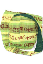 Load image into Gallery viewer, Green Hare Rama Hare Krishna Jhola Sling Bag