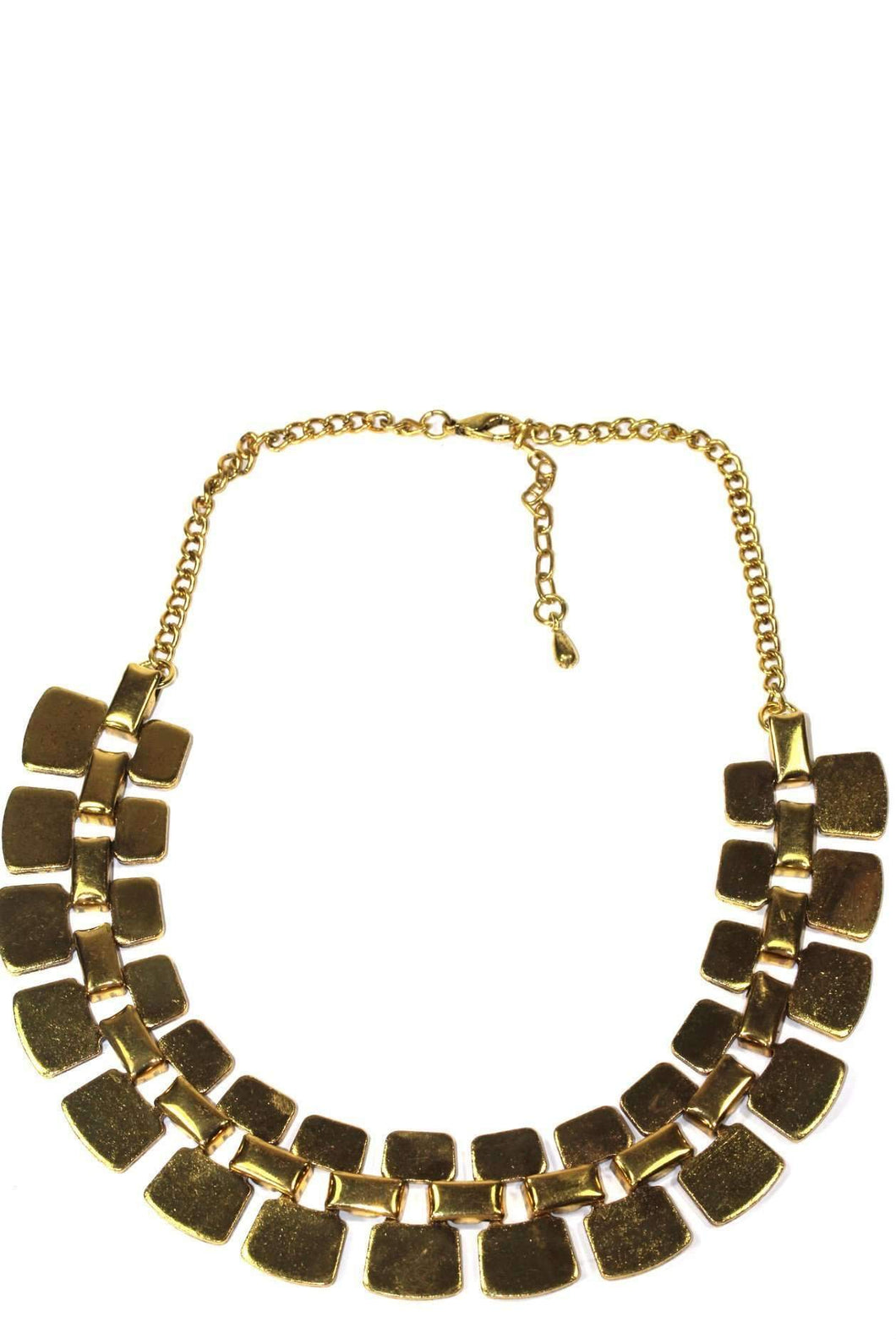 Golden Nugget Tribal Necklace