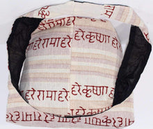 Load image into Gallery viewer, White Hare Rama Hare Krishna Jhola Sling Bag