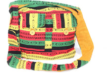 Load image into Gallery viewer, Rasta Vibes Durrie Sling Bag