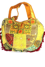 Load image into Gallery viewer, Festival Jhola Carry Bag | Wild Lotus