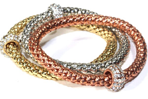 Charm & Rope Bangle Set by Wild Lotus