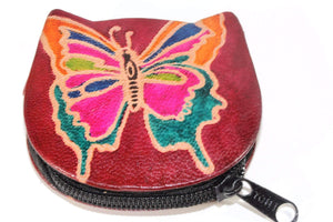 Butterfly Coin Purse by Wild Lotus