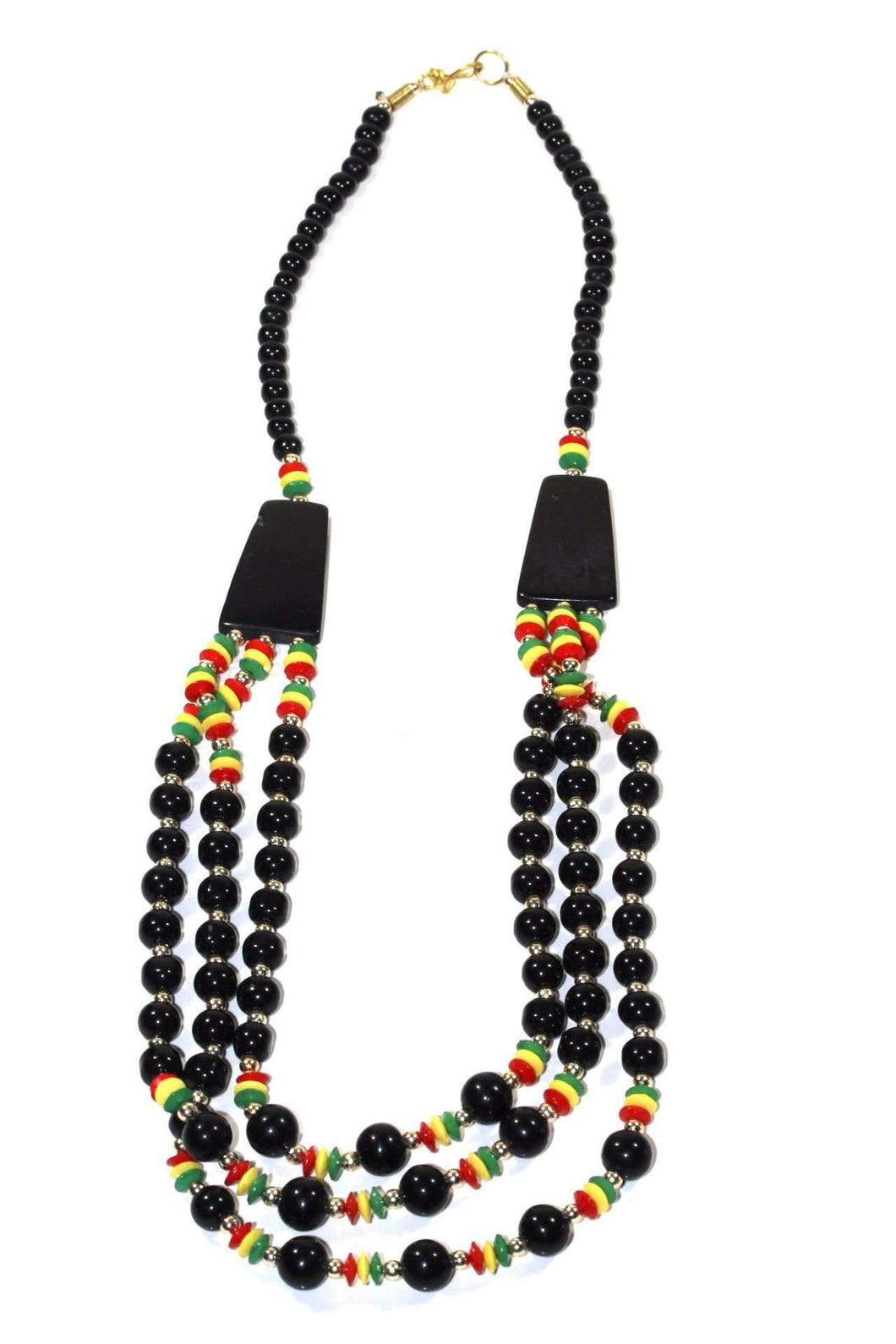 A Punky Raggae Party Rasta Style Necklace