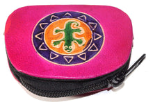 Load image into Gallery viewer, Pink Tribal Salamander Coin Purse