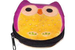 Hooty Owl Coin Purse by Wild Lotus