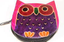 Load image into Gallery viewer, Hooty Owl Coin Purse by Wild Lotus