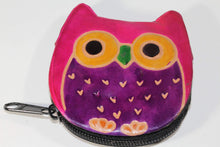 Load image into Gallery viewer, Hooty Owl Coin Purse