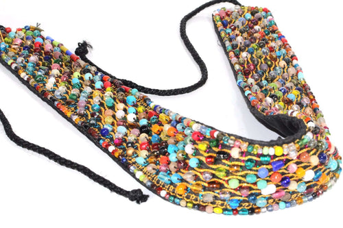 Prismatic Beaded Belt