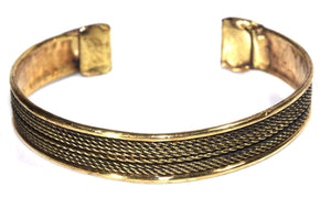 Tribal Cuff Bangle by Wild Lotus