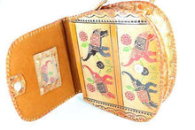 Load image into Gallery viewer, Trunks Up, Lucky Elephant Art Leather Purse | Wild Lotus