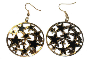 Dapper Star Cluster Earrings