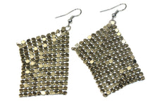 Load image into Gallery viewer, Shimmer Mesh Earrings | Wild Lotus