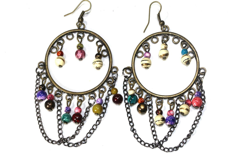 Multi Color Wild Child Earrings