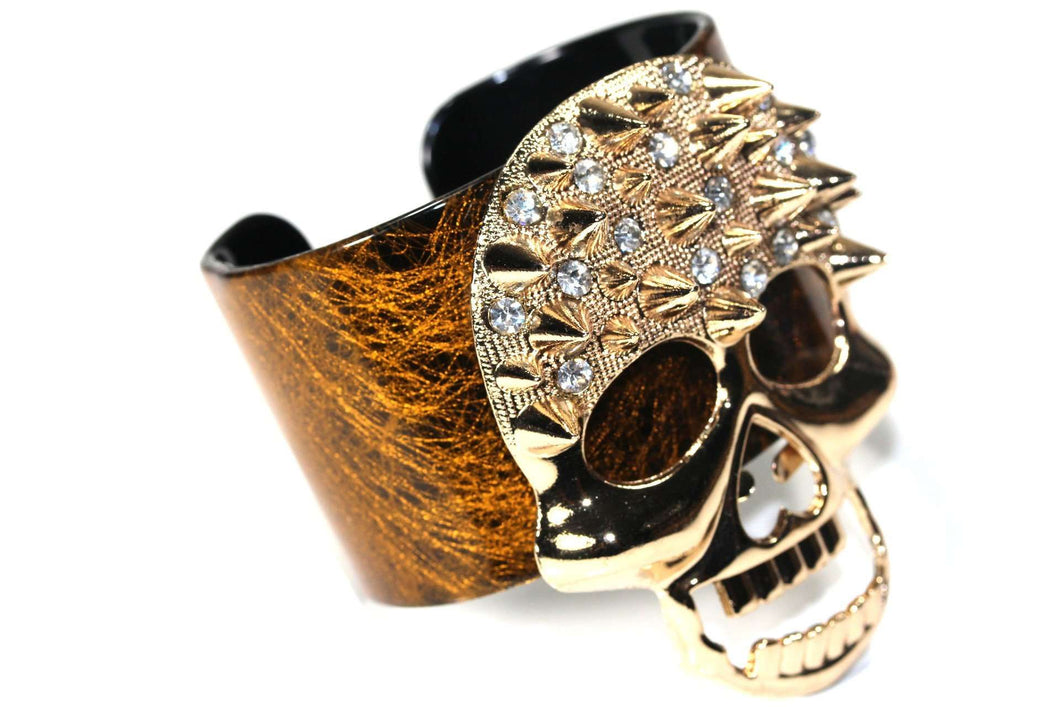 Renegade Skull Cuff Bangle