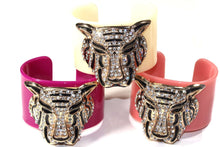 Load image into Gallery viewer, Tiger Glitz Cuff Bangles | Wild Lotus