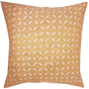 "Beige Indian Cushion Cover Everyday Home Accent Furnishing - 16"" x 16"" 