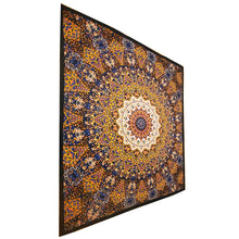 Load image into Gallery viewer, Chakra Star Sign Indian Elephant Mandala Full Size Wall Tapestry Hanging