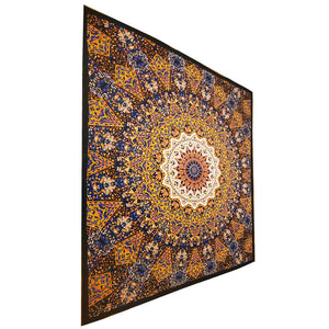 Chakra Star Sign Indian Elephant Mandala Full Size Wall Tapestry Hanging