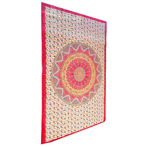 Chakra Star Sign Indian Elephant Mandala Tapestry Wall Hanging | Wild Lotus® | @wildlotusbrand