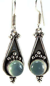 Silver Lining Moonlit Drop Earrings