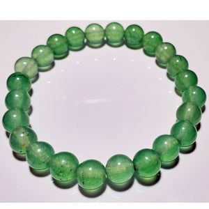8mm Aventurine Beaded Elastic Stretch Bracelet | Wild Lotus® | @wildlotusbrand
