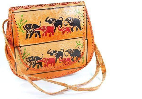 Herd Of Elephants Purse