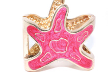 Load image into Gallery viewer, Pink Starfish Glitz Bangle