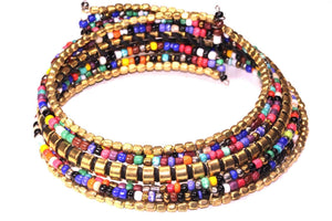 Summer Festival Kaleidoscope Choker Necklace