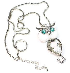 Dazzling Owl Necklace