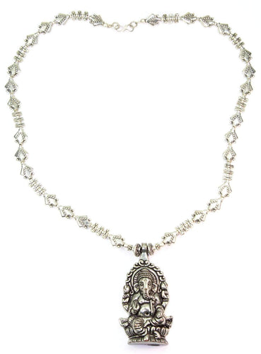 Grand Ganesha Pendant Necklace