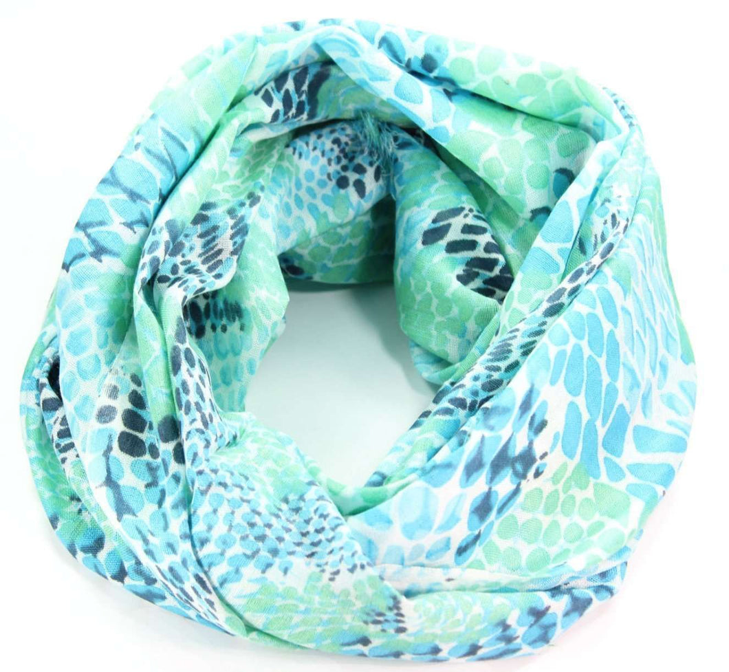 Tree Snake Printed Scarf