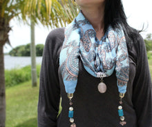 Load image into Gallery viewer, Summertime Paisley Scarf | Wild Lotus