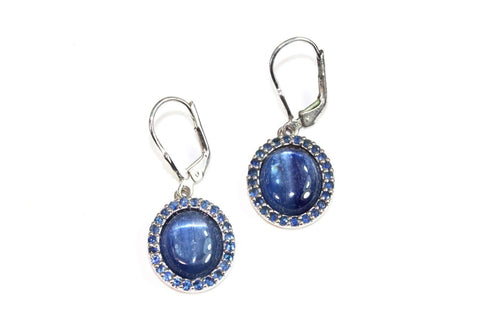 Himalayan Kyanite & Tanzanite Medley Earrings
