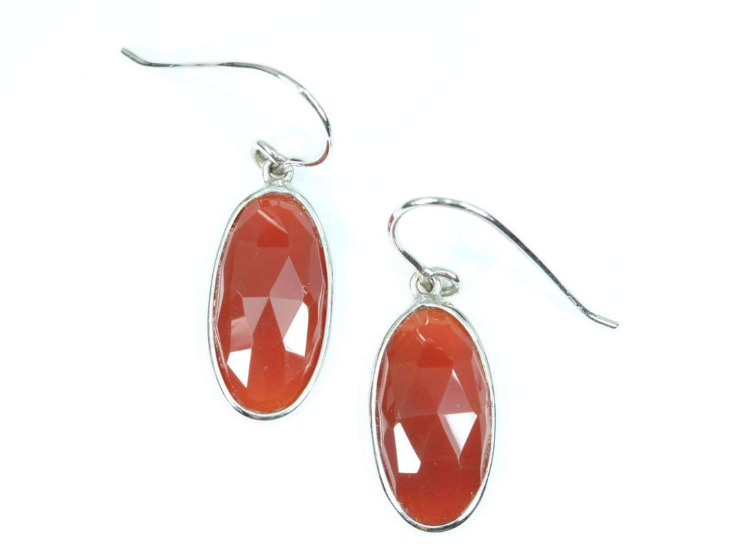Carnelian Dangler Earrings