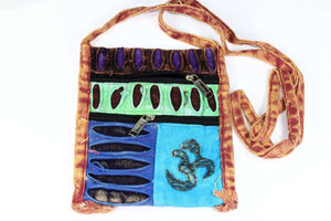 Om Cross Body Patchwork Jhola Bag