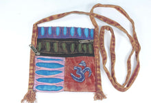 Load image into Gallery viewer, Om Cross Body Patchwork Jhola Bag | Wild Lotus