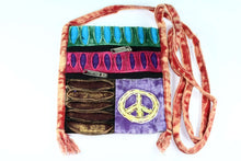 Load image into Gallery viewer, Stone Wash Peace Crossbody Patchwork Passport Bag